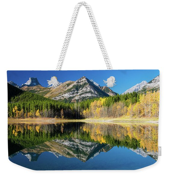 Wedge Pond Color Weekender Tote Bag