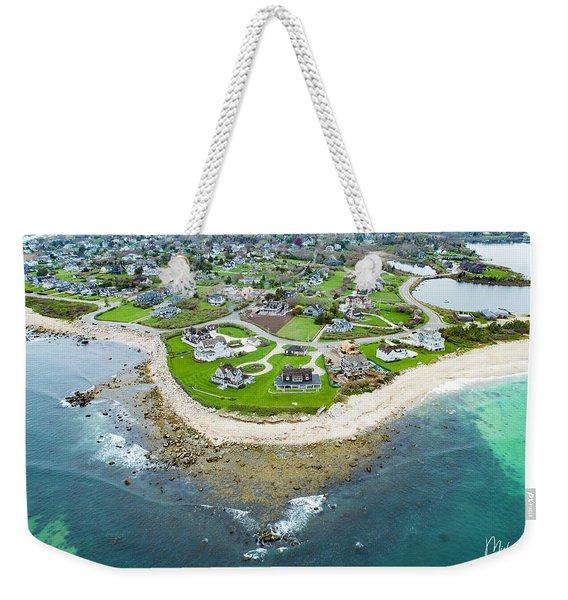 Weekapaug Point Weekender Tote Bag