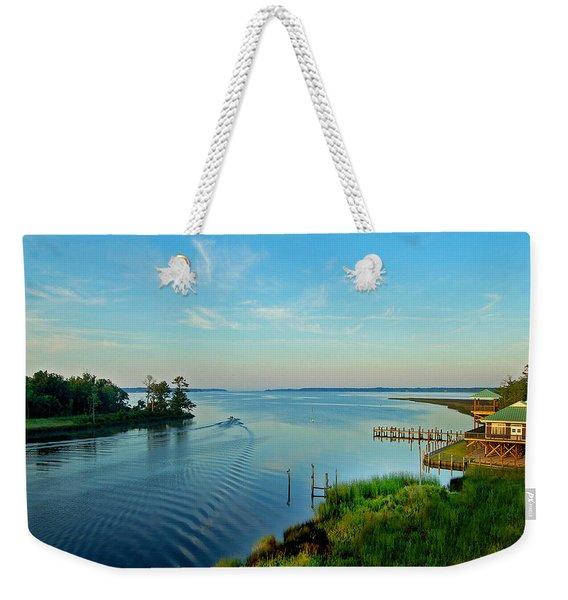 Weeks Bay Going Fishing Weekender Tote Bag