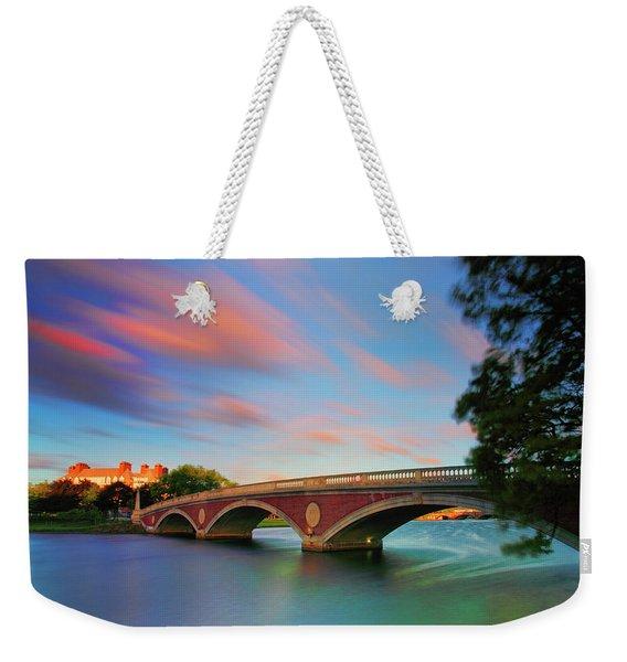 Weeks' Bridge Weekender Tote Bag