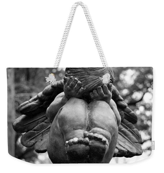 Weeping Child Angel Weekender Tote Bag