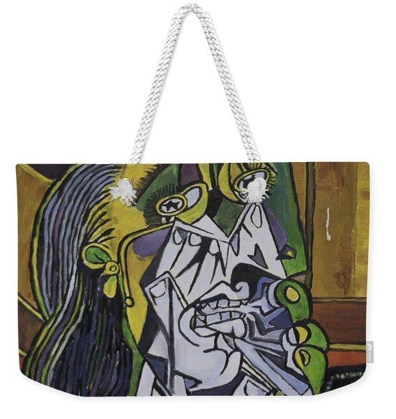 Picasso's Weeping Woman Weekender Tote Bag