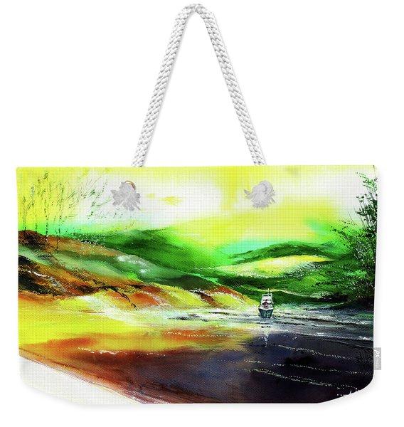 Welcome Back Weekender Tote Bag