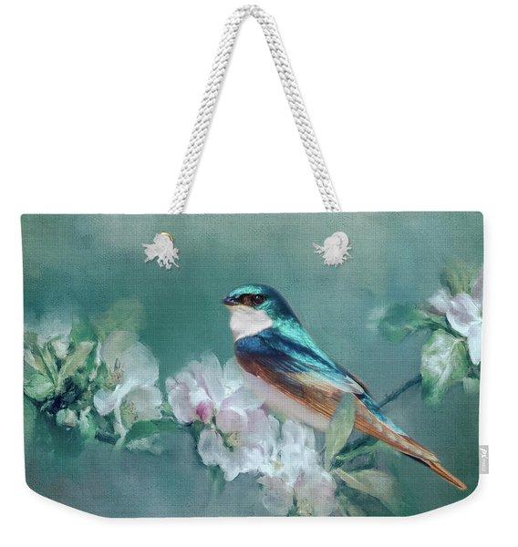 Welcome Spring Weekender Tote Bag