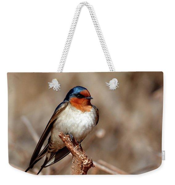 Welcome Swallow Weekender Tote Bag