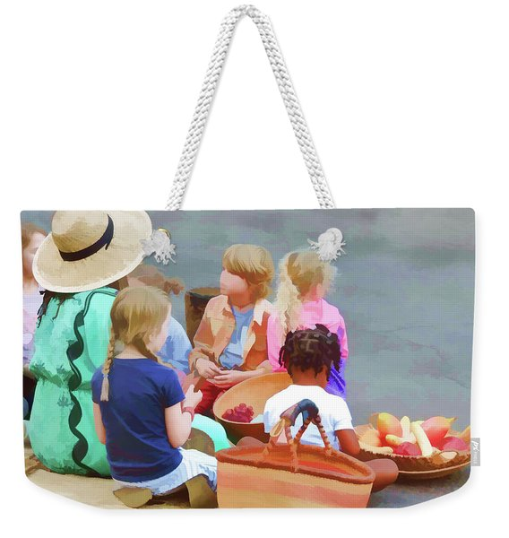 Welcome The Children Weekender Tote Bag
