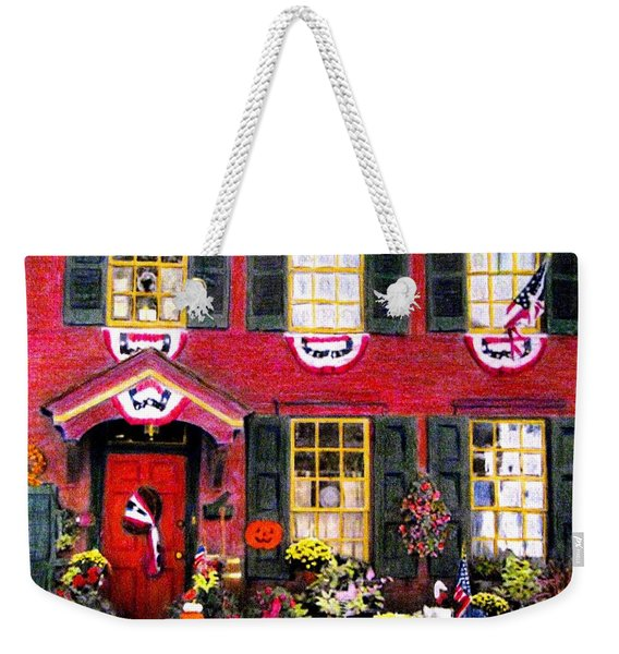 Welcome To Autumn Weekender Tote Bag