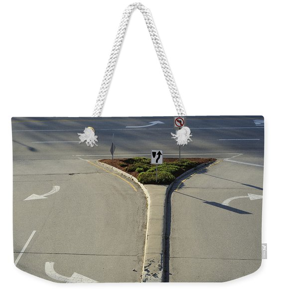 Welcome To Driver's Ed Weekender Tote Bag