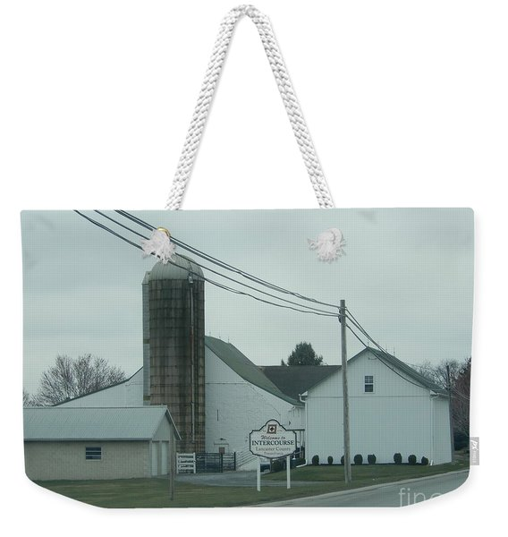 Welcome To Intercourse, Pa Weekender Tote Bag