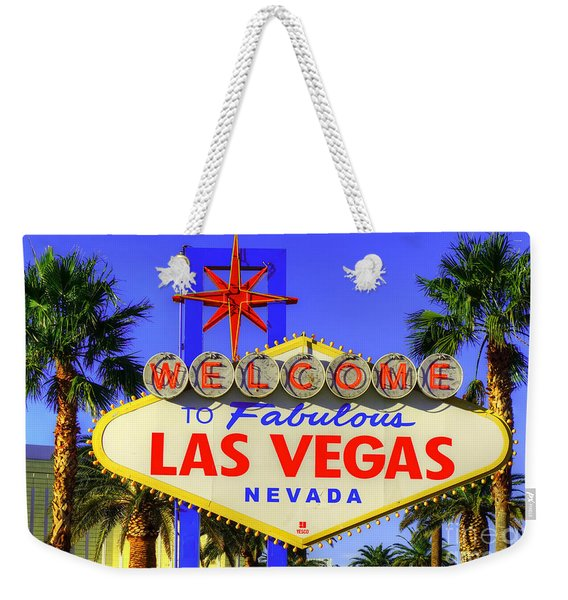 Welcome To Las Vegas Weekender Tote Bag