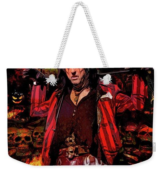 Welcome To My Nightmare Weekender Tote Bag