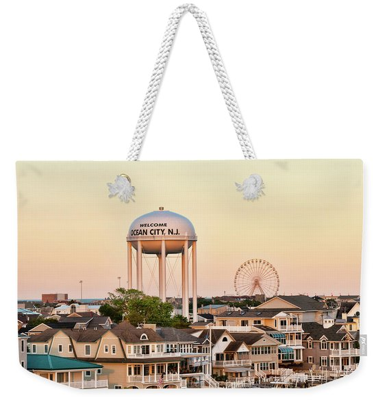 Welcome To Ocean City, Nj Weekender Tote Bag