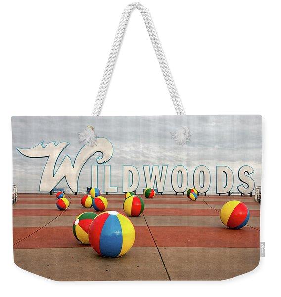 Welcome To The Wildwoods Weekender Tote Bag