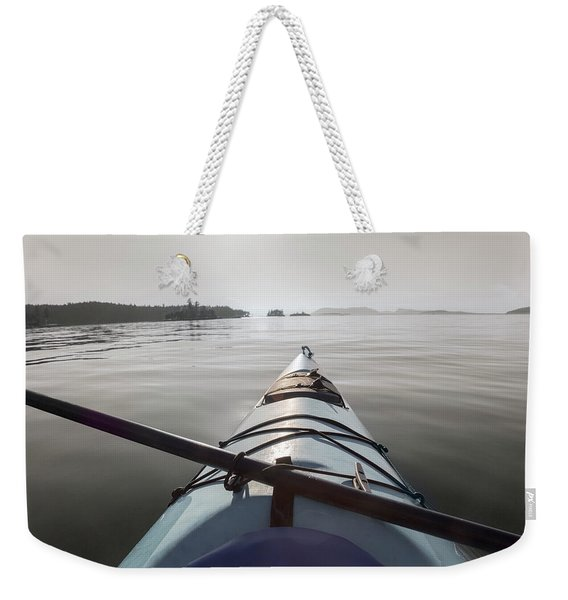 Welcome To Your Adventure  Weekender Tote Bag