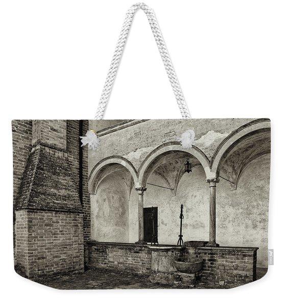Well And Arcade Weekender Tote Bag