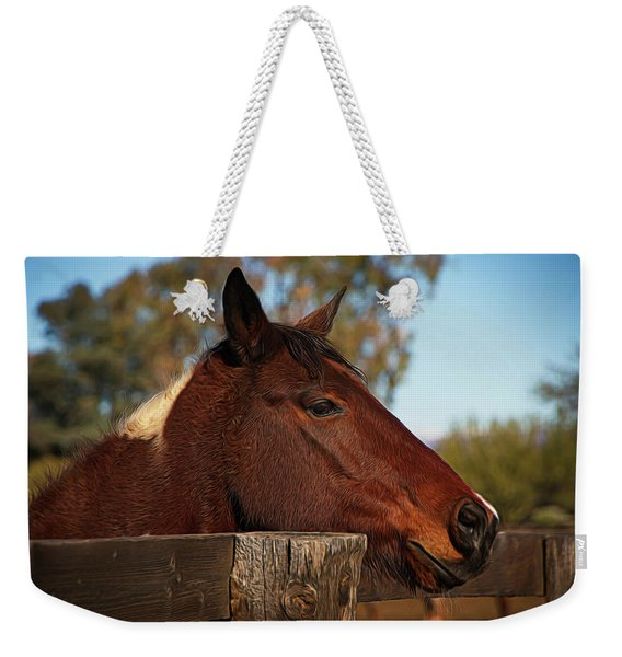 Well Hello There Weekender Tote Bag