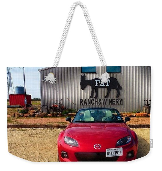 Well, It Is #miatamonday And It Was Too Weekender Tote Bag