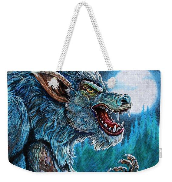 Werewolf Weekender Tote Bag
