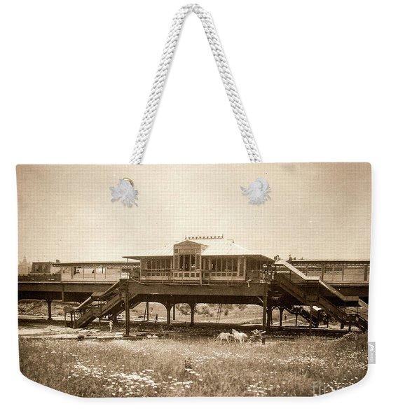 West 207th Street, 1906 Weekender Tote Bag