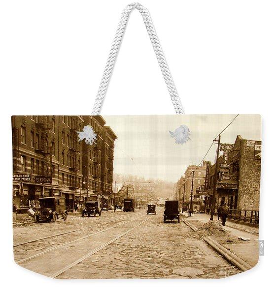 West 207th Street, 1928 Weekender Tote Bag