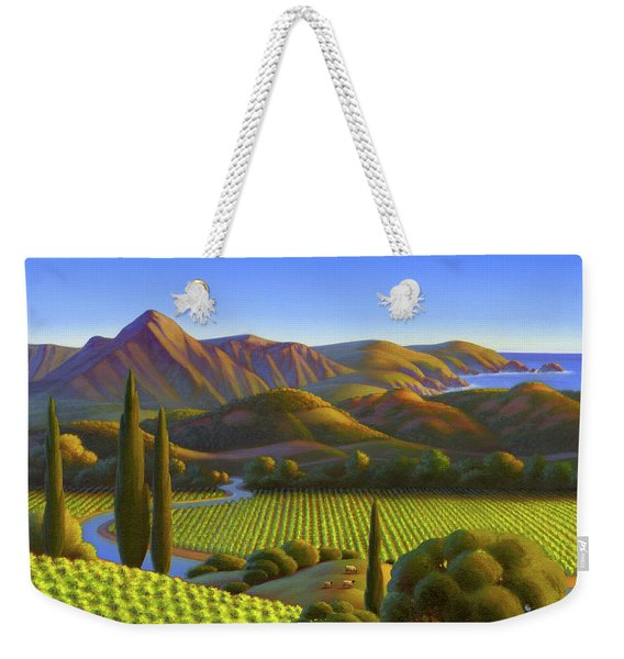 West Coast Dreaming Weekender Tote Bag