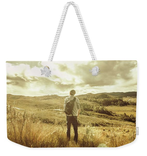 West Coast Tasmania Explorer Weekender Tote Bag