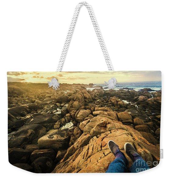 West Coast Tasmania Sightseeing Tour Weekender Tote Bag