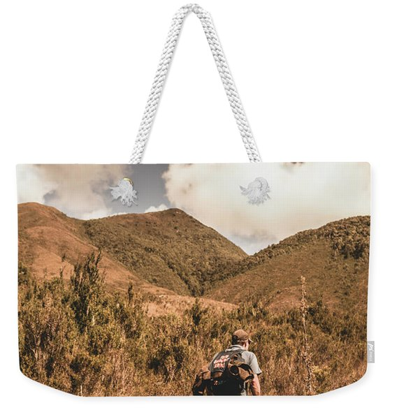 West Coast Tasmania Traveller Weekender Tote Bag