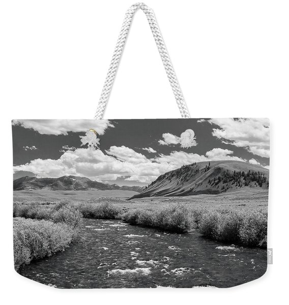 West Fork, Big Lost River Weekender Tote Bag