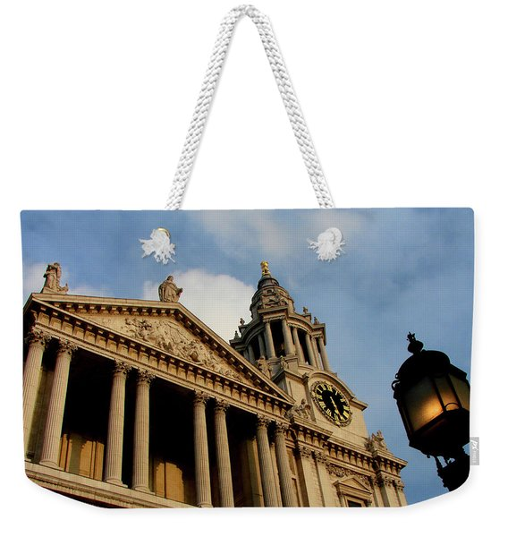 West Front Of St.paul's Cathedral, London Weekender Tote Bag
