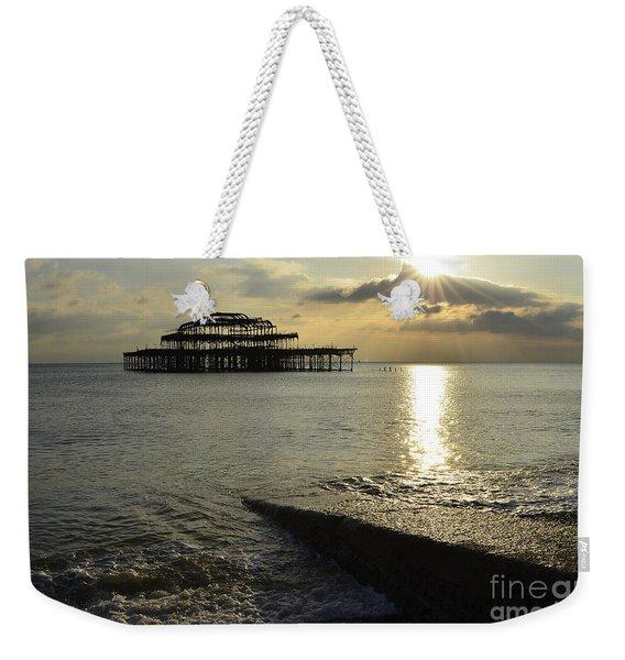 West Pier Brighton Weekender Tote Bag