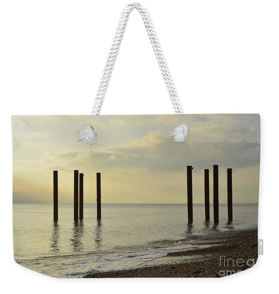 West Pier Supports Weekender Tote Bag