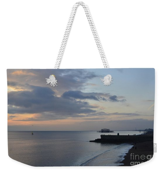 West Pier Views Weekender Tote Bag