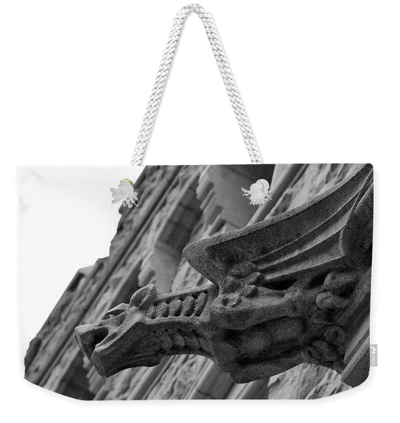 West Point Gargoyle Weekender Tote Bag