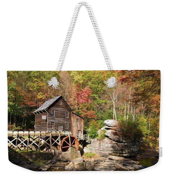 West Virginia Mill Weekender Tote Bag