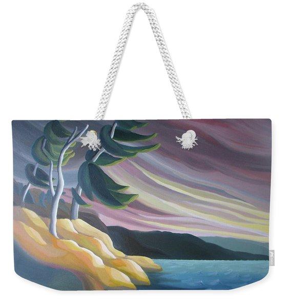 West Wind Weekender Tote Bag