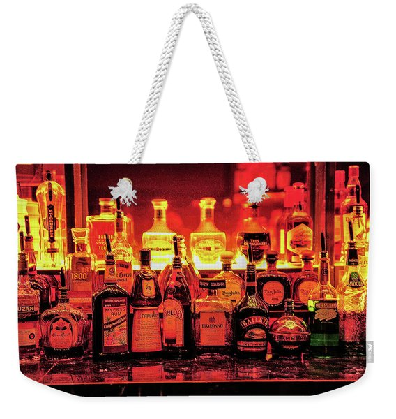 Weekender Tote Bag featuring the photograph West Wing Bar by Scott Cordell
