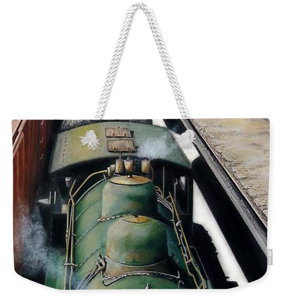 Eastbound To The Mountains Weekender Tote Bag