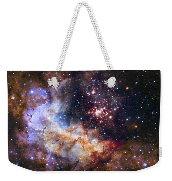 Westerlund 2 - Hubble 25th Anniversary Image Weekender Tote Bag