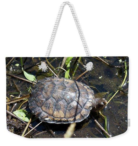 Western Pond Turtle, Actinemys Marmorata Weekender Tote Bag