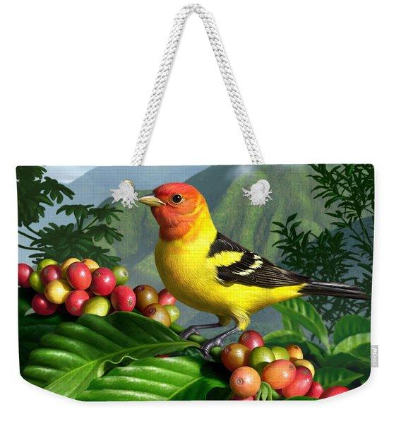 Western Tanager Weekender Tote Bag