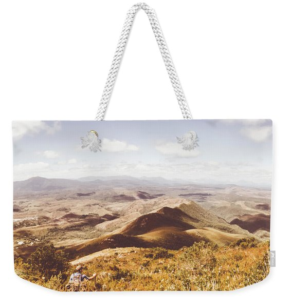 Western Tasmania Wilderness  Weekender Tote Bag