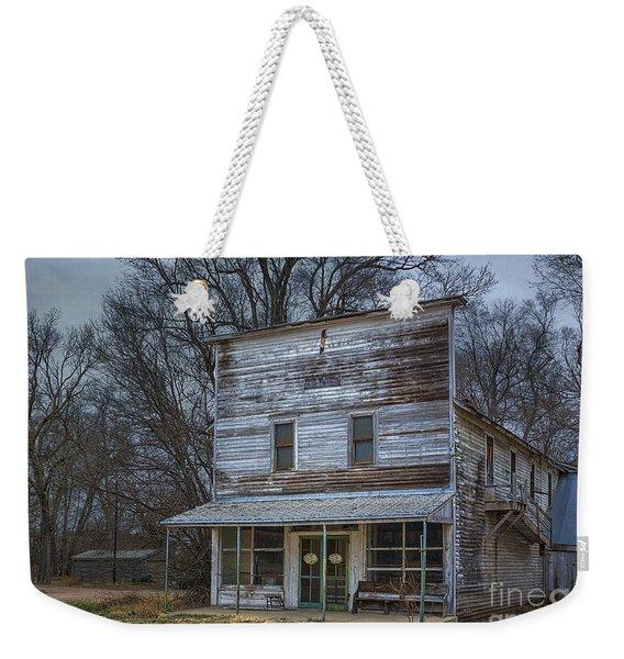Westerville Nebraska General Store Weekender Tote Bag