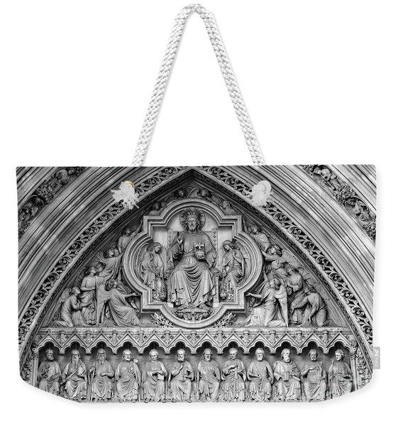 Westminster Abbey London Weekender Tote Bag