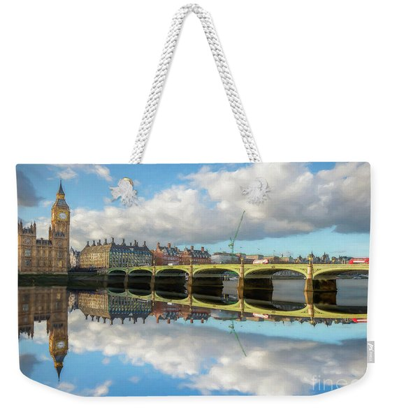 Westminster Bridge London Weekender Tote Bag