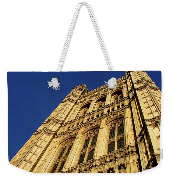 Westminster Palace, London Weekender Tote Bag