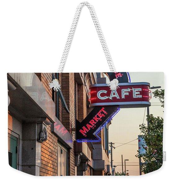 Westsidemarketcafe Weekender Tote Bag