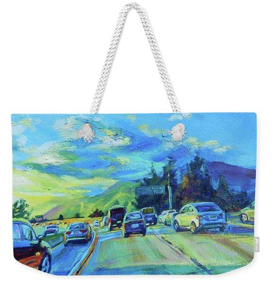 Westward Weekender Tote Bag