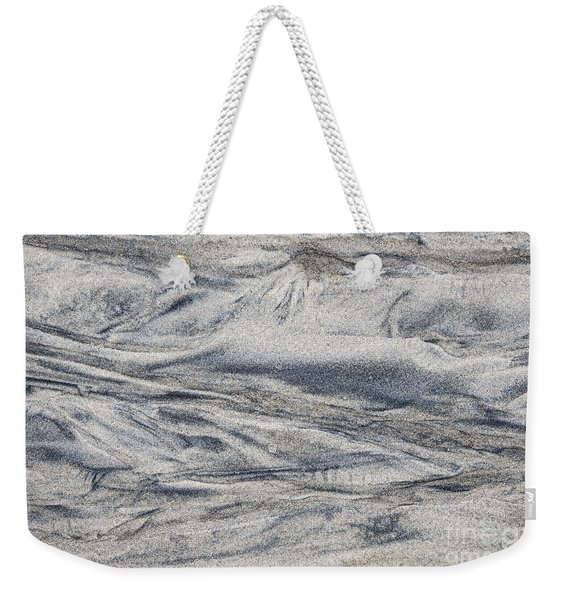 Wet Sand Abstract I Weekender Tote Bag
