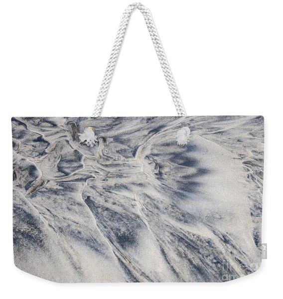 Wet Sand Abstract II Weekender Tote Bag